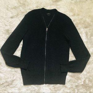 All Saints Full Zip Sweater